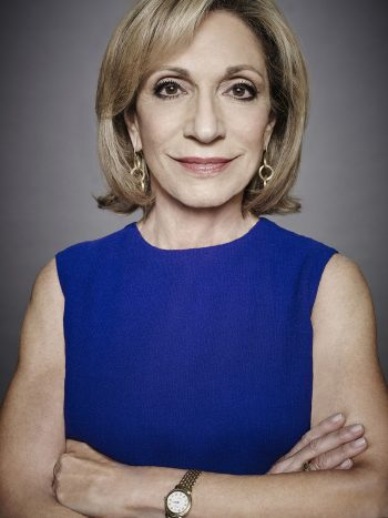 MSNBC ANCHORS -- Season: 2016 -- Pictured: Andrea Mitchell -- (Photo by: Art Streiber/MSNBC)