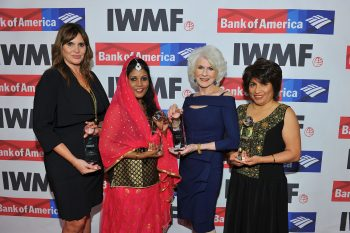 The International Women's Media Foundation 2016 Courage in Journalism Awards at the Beverly Wilshire hotel on Thursday, Oct. 20, 2016 in Beverly Hills, Calif. (Photo by Vince Bucci)