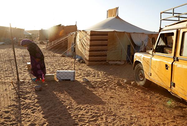 Rabouni camp in western Algeria
