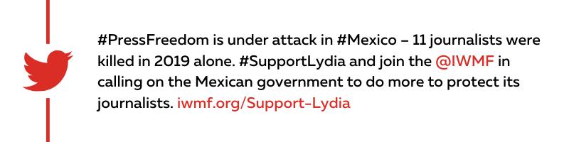 Support Lydia Tweet 2